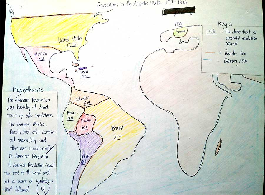 World History Connected Vol No Clara Webb Beyond - Us map that can be annotated