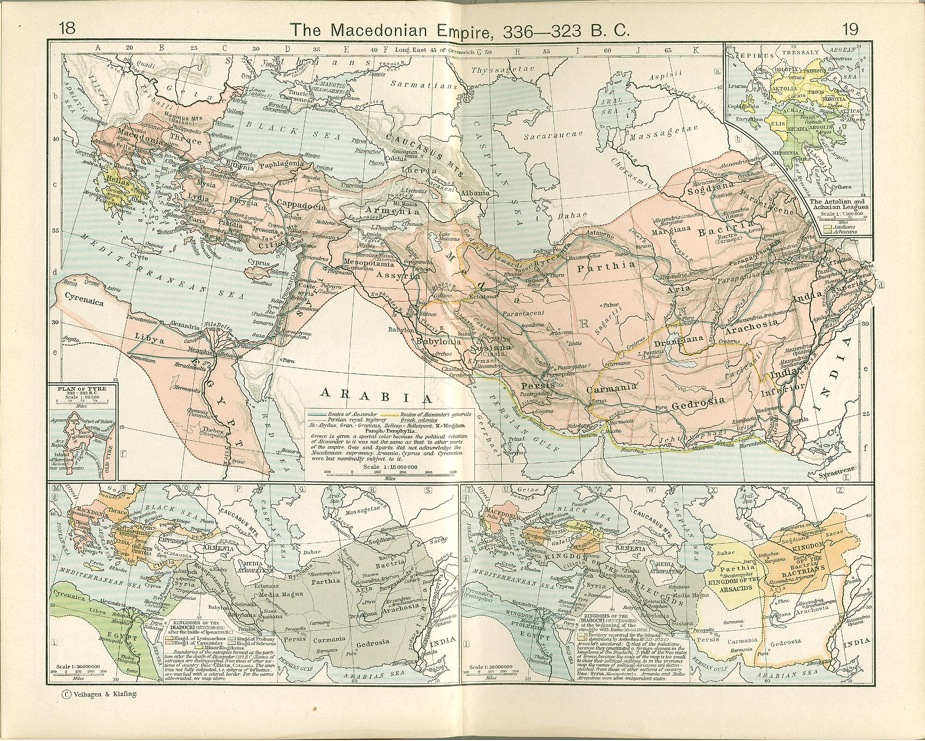 World history connected vol 8 no 2 michael mcinneshin figure 1 the macedonian empire 336323 bce william shepherd historical atlas new york henry holt and company 1911 1819 courtesy of the gumiabroncs Gallery